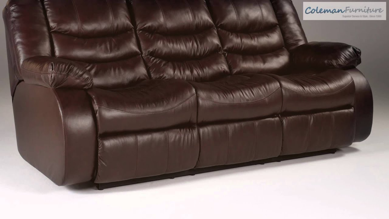 Revolution Burgundy Living Room Furniture From Millennium By Ashley    YouTube Part 98