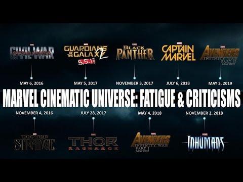 Marvel Studios Cinematic Universe Fatigue & Criticisms