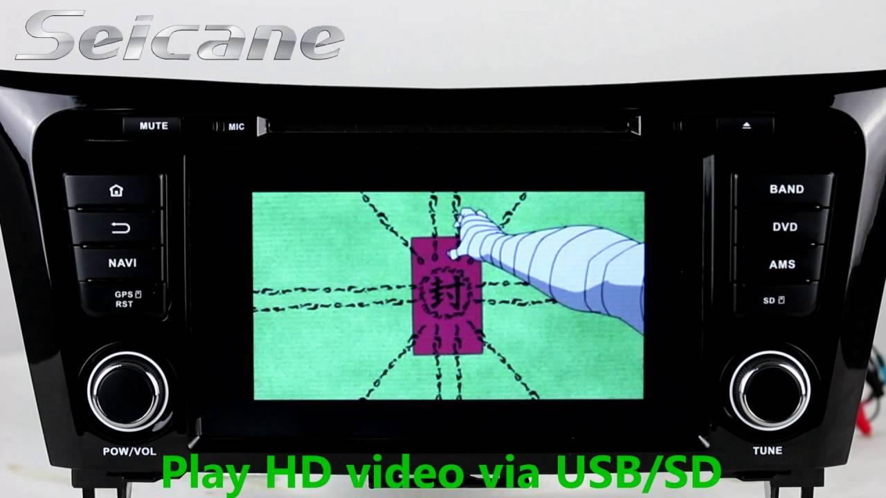 nissan x trail t32 stereo wiring diagram 8 inch 2013 2014 nissan x trail [ 1280 x 720 Pixel ]