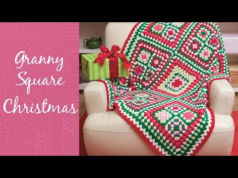 Granny Square Christmas | An Annie's Creative Studio Episode | Start Your FREE TRIAL Today!