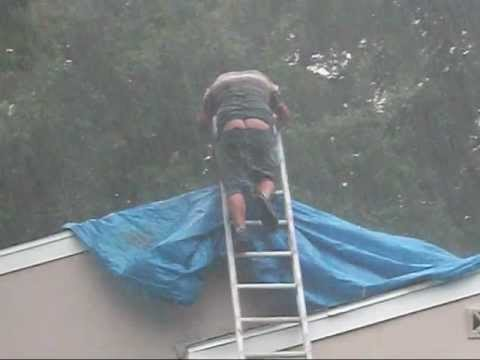 Roofing Gone Bad Lol Funny Youtube
