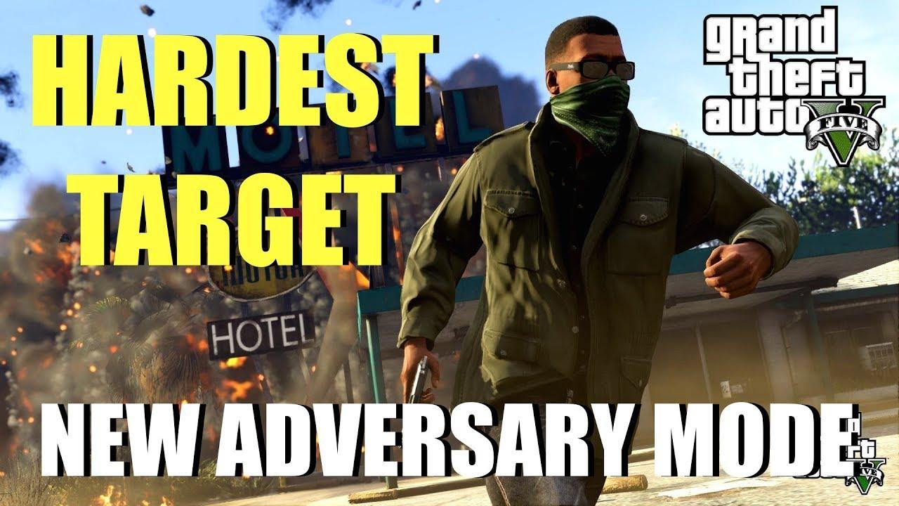 how to host adversary mode gta 5