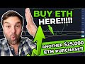 😮{HUGE!!} ETHEREUM BUY SIGNAL!! // The Best Time To Buy Eth In 15 Months!! (MY ETH TRADE & HODL!)