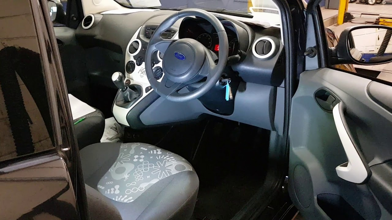 Ford Ka Restyled Diagnostic Socket Location