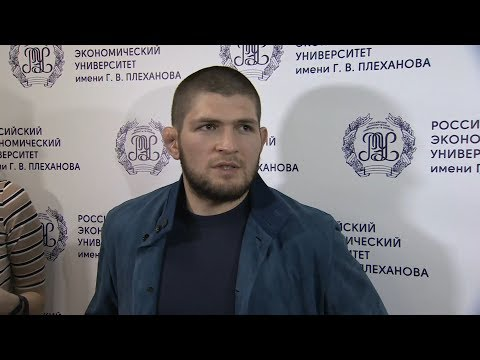 Хабиб Нурмагомедов рассказал, где рассчитывает провести следующий бой