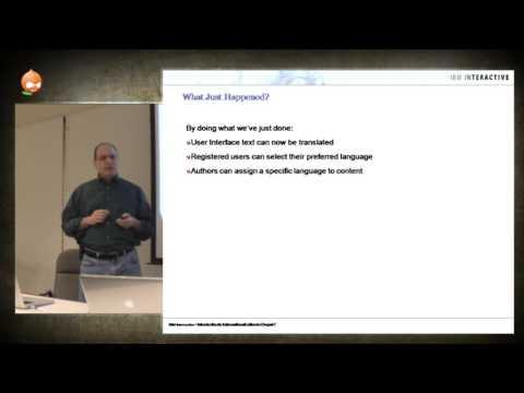 Bill Shaouy, John King & Lee Tilt - Introduction To Internationalization In Drupal 7 (ADUG - 091311)