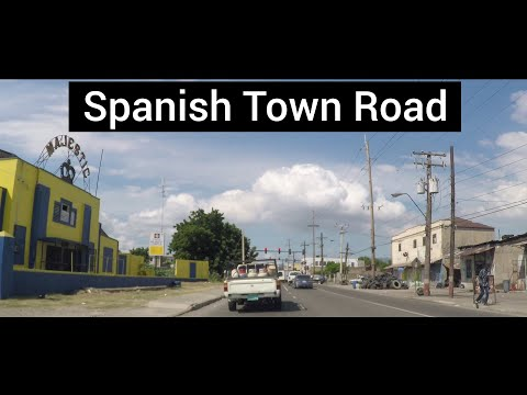 Spanish Town Road, Kingston, Jamaica