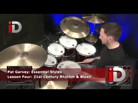 Pat Garvey Drum Lesson: Styles: Rhythm & Blues