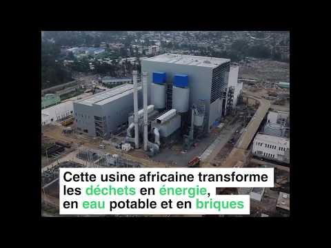 La première usine de transformation des déchets en énergie en Afrique.