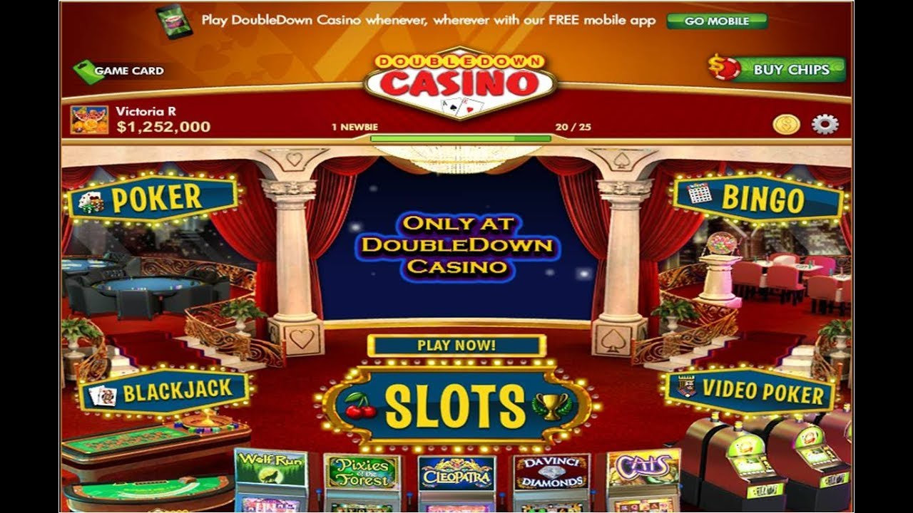 Double down casino not loading