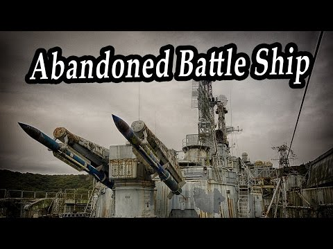 Ghost Abandoned Battle Ship In France Exploration. Abandoned Ships Inside. Abandoned Navy Ships