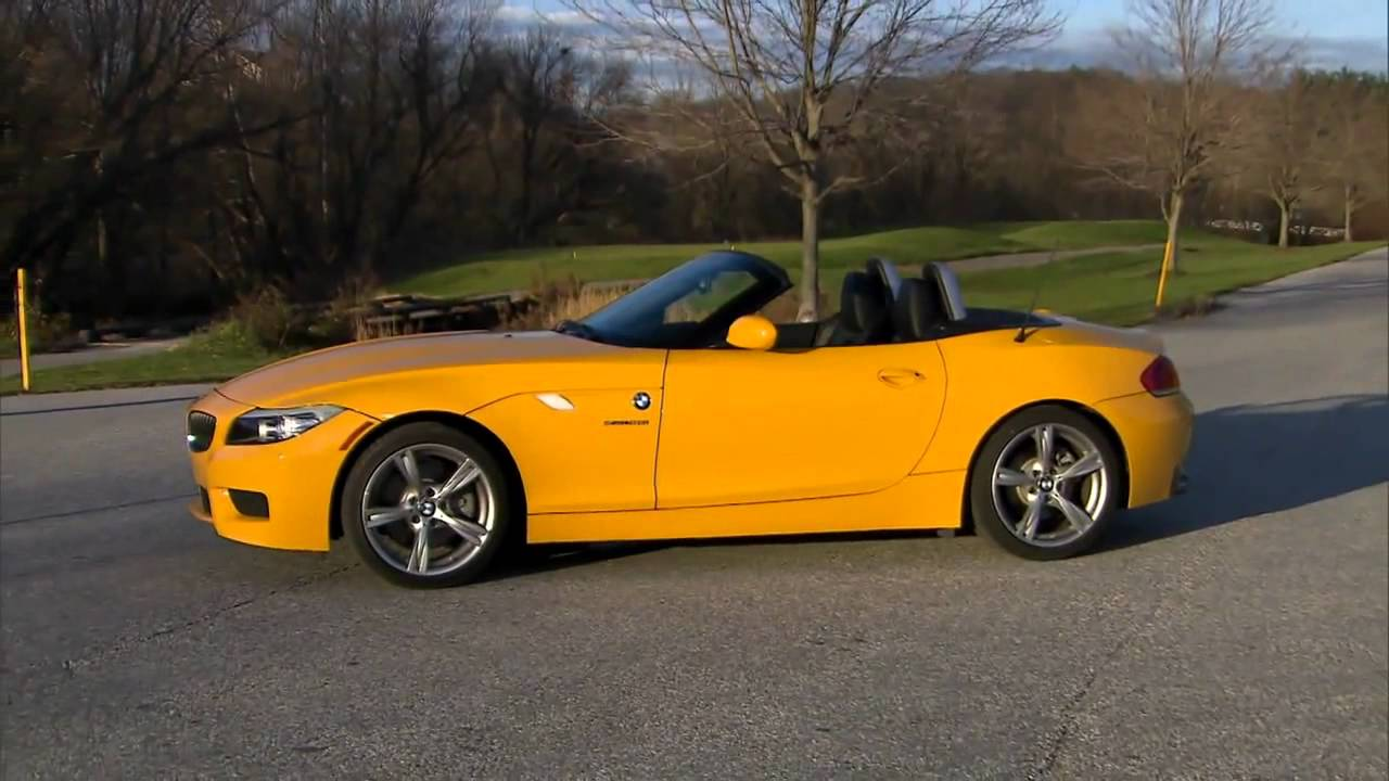 2012 Bmw Z4 28i Review Youtube