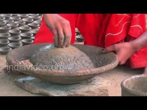 Pottery in Khajuraho