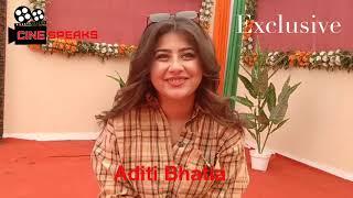 Aditi Bhatia Exclusive Candid Chit Chat Ye Hai Mohabbatein Star Plus