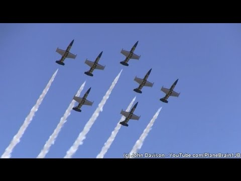 2015 R.I. Airshow @Quonset - Breitling Jet Team