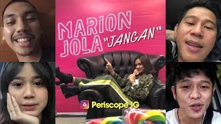 "Video Marion Jola ""Jangan"" feat Rayi RAN (Launching single) download MP3, 3GP, MP4, WEBM, AVI, FLV Juni 2018"