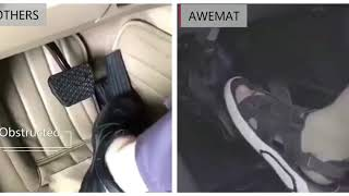 Awemat show you how to tell a good car floor mat .