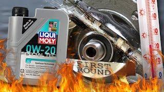 Liqui Moly Special Tec V 0W20 Jak skutecznie olej chroni silnik? 100°C