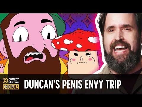 Duncan Trussell Took Terence McKenna's Penis Envy Mushrooms