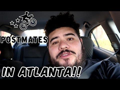 Postmates In Atlanta| How Much Did I Make?