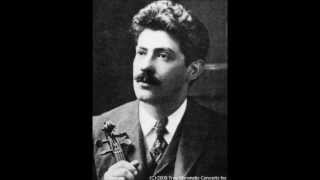 Thibaud & Kreisler play Dvorak Slavonic Dance No 1 in G minor Op. 46, 22, Harold Craxton