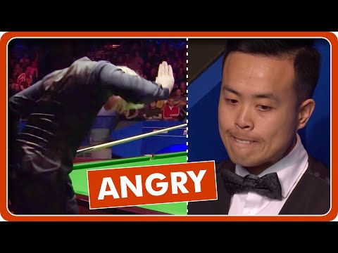 When Snooker Player Gets Angry Compilation
