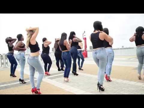 Lucero y Kizomba Woman en el International Kizomba Flashmob Mexico (Lady Style)