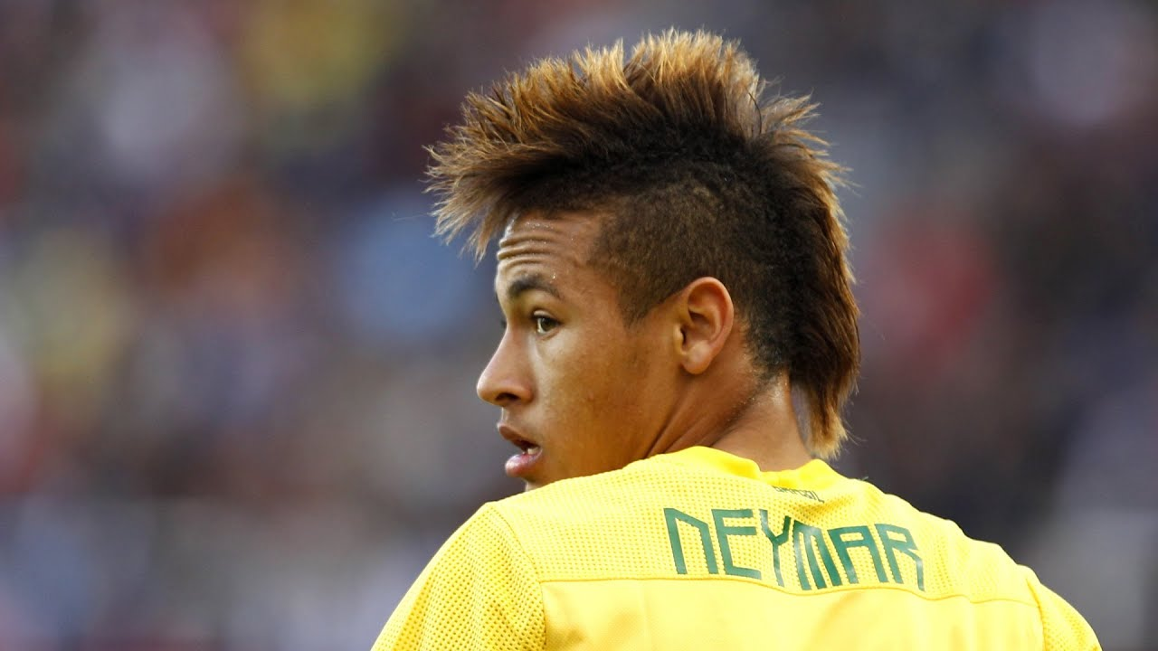 neymar soccer star hair idol