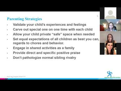 Autism & COVID-19 Webinar 7: Supporting Siblings