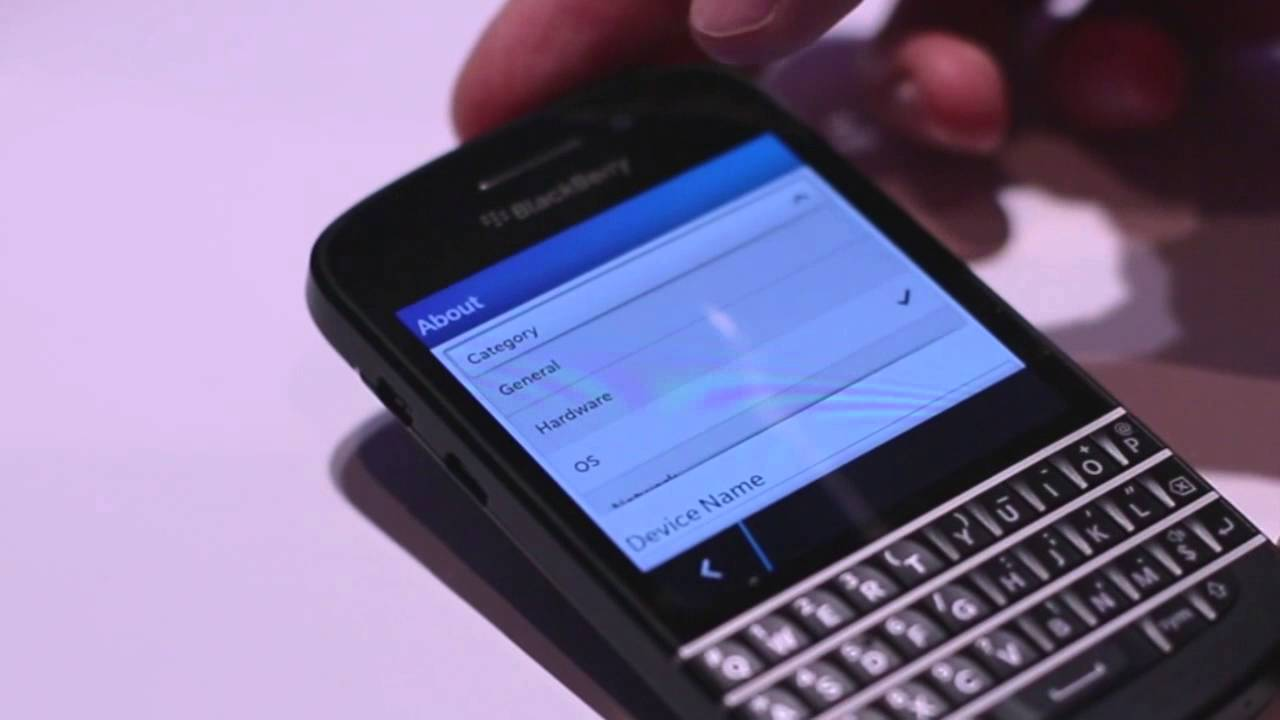 Hands-on with the Sprint BlackBerry Q10