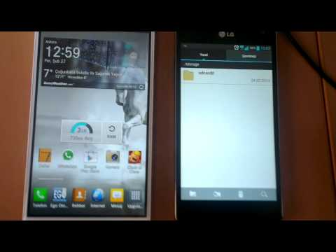 Lg optimus g ve g pro otg test (lg optimus G and G pro otg test)