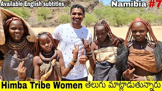 Indian Living 24 hours with Himba Tribe | Heroro Tribe | part 2 | Uma Telugu Traveller