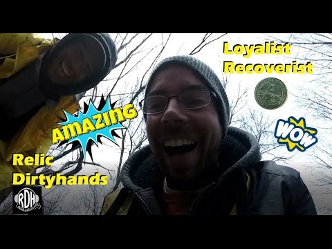 Old American Silver! Bucket Lister!!!! Loyalist Recoverist Metal Detecting