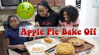 Apple Pie Bake Off | She Almost Threw Up 🤢| Family Matters