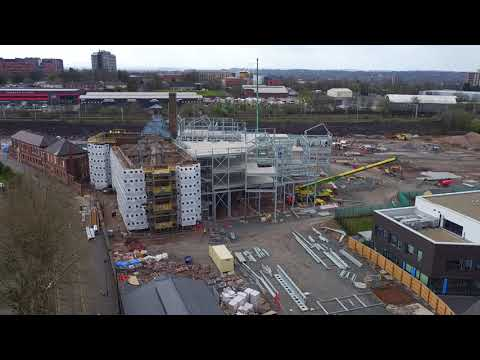 Aerial Footage Of Springfield Campus And ECMS Sites