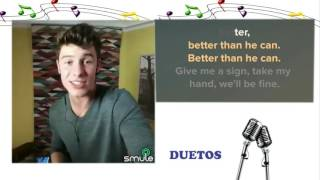 Cante com Shawn Mendes - Treat you Better - Karaoke
