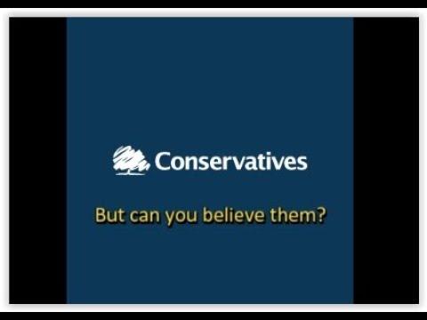 How politicians lie: CONservatives
