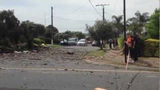 Falcon Street, Holden Hill Explosion 2
