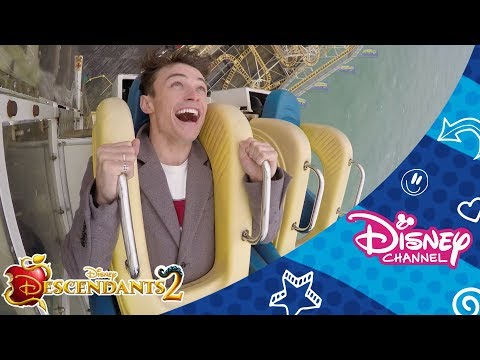 Disney Channel Dares  Thomas and Booboo  Scary Ride Challenge 🎢   Disney Channel Africa