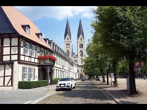 Halberstadt - Von oben betrachtet - YouTube