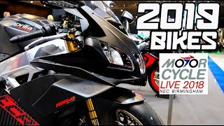 The BEST New Bikes For 2019!! - Motorcycle Live 2018