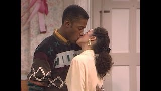 A Different World: 3x07 - Dwayne and Whitley's famous kiss