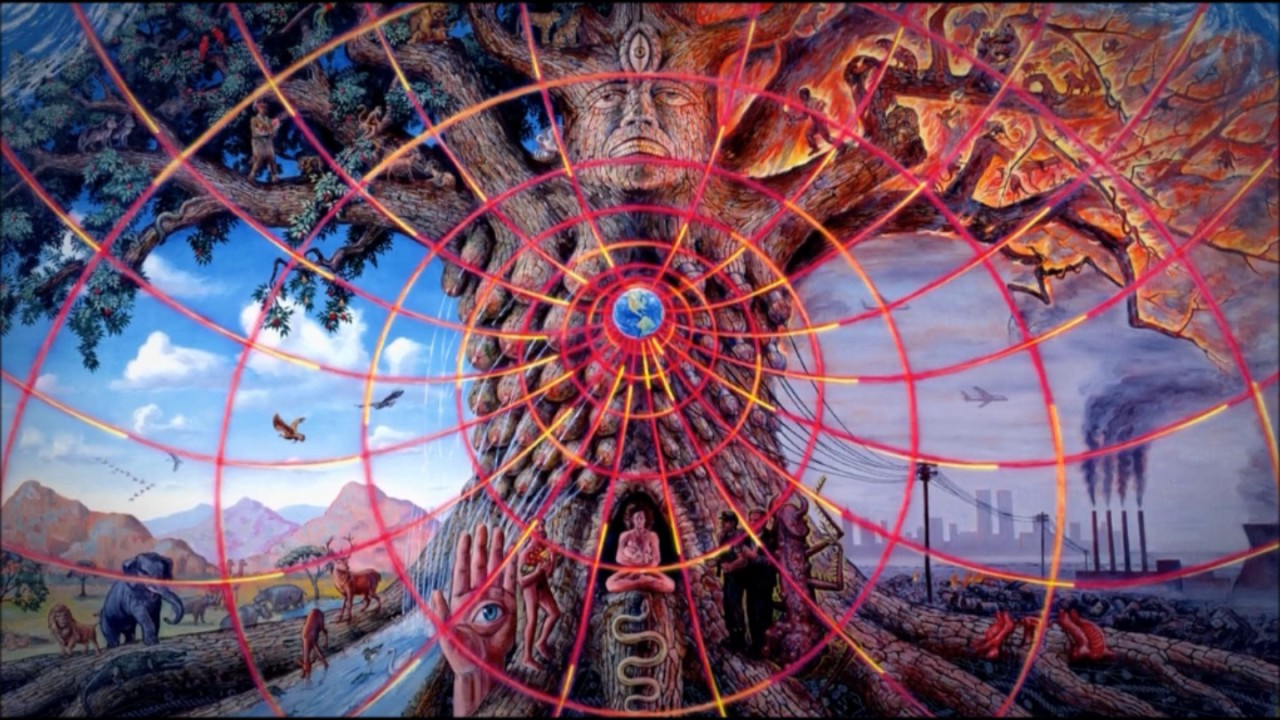 The Deep Web - A Psychedelic Trance Mix - YouTube