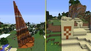 Tiny Broken Biomes in Minecraft