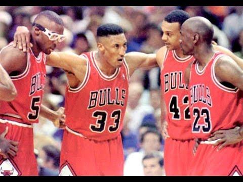 Bulls vs. Knicks - 1993 playoffs Game 6