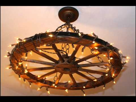 Superior Wagon Wheel Chandelier Design Ideas