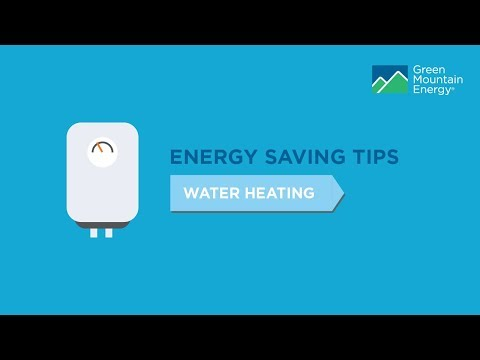 Home Energy-Saving Tips: Water Heating