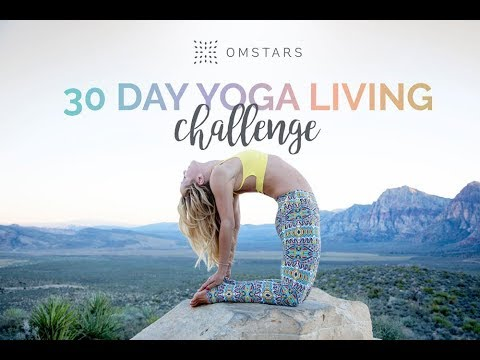 30 Day Yoga Living -- Join the FREE Challenge on OmStars -- Stars January 1, 2018!!