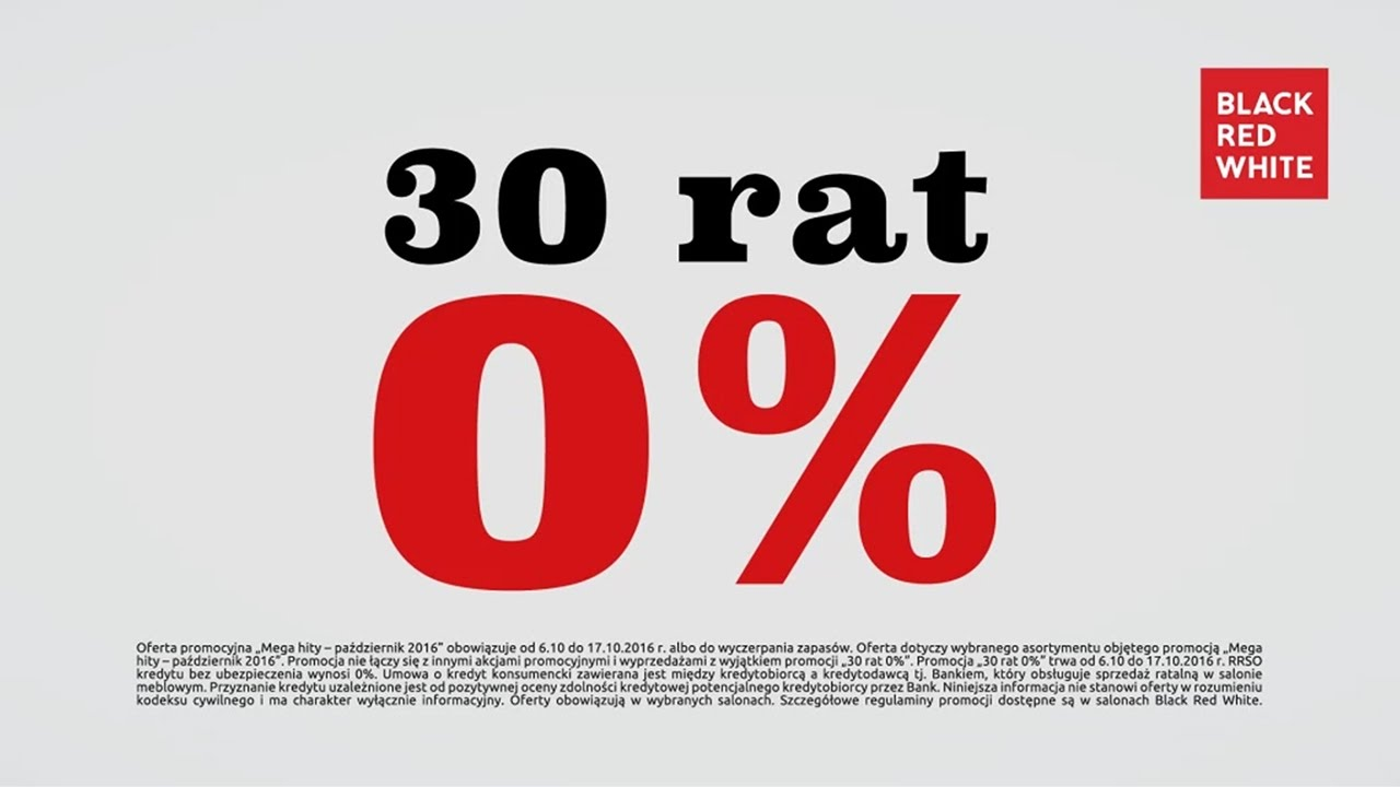 Aktualności I Multimedia Reklama W Tv Black Red White