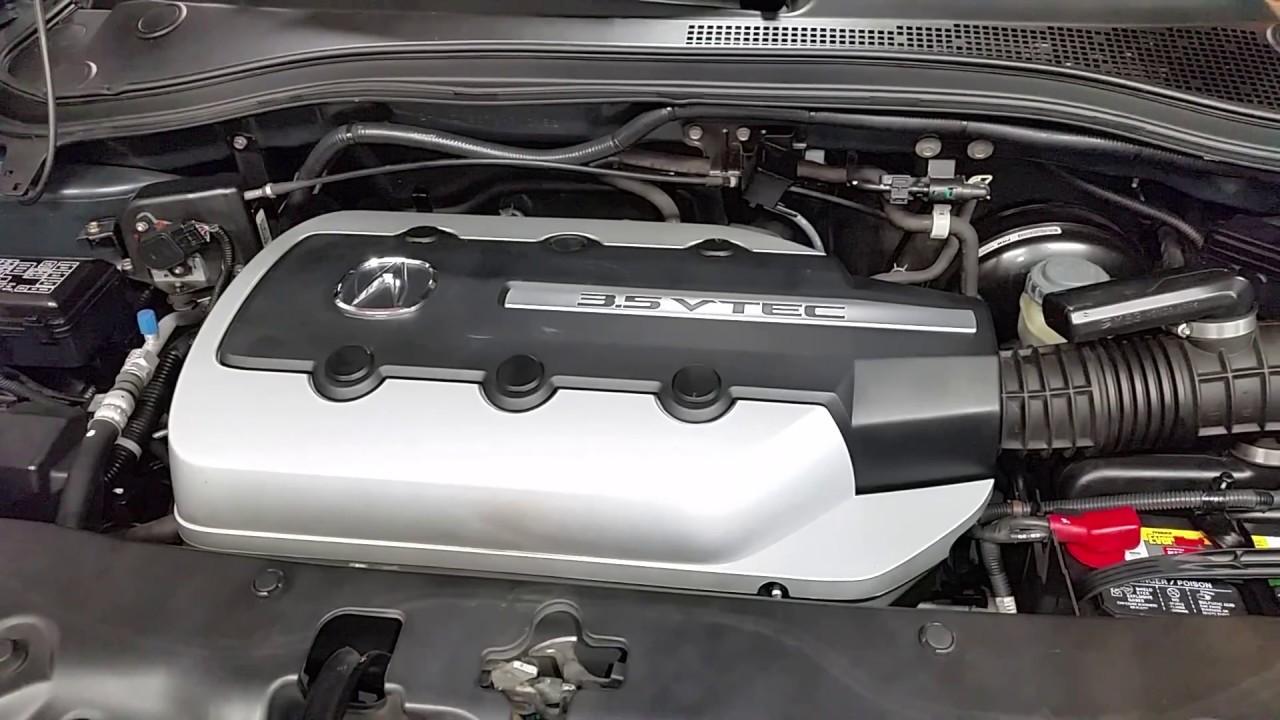 Acura MDX VTEC L V Engine Running After Checking - Acura engine